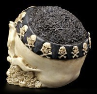 Skull with Bandana and Eye Patch