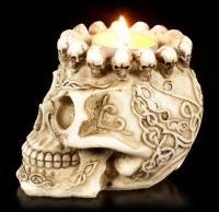 Skull Ashtray or Tealight Holder