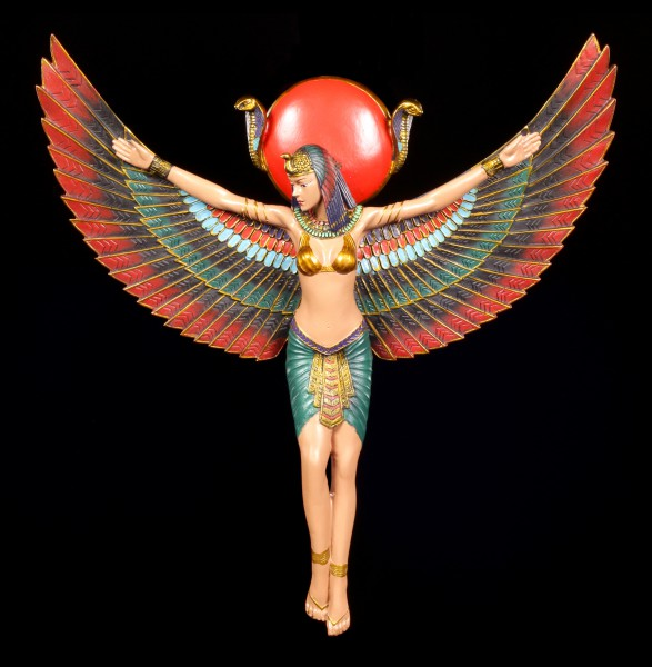 Egyptian Wall Plaque - Isis with spreading Wings