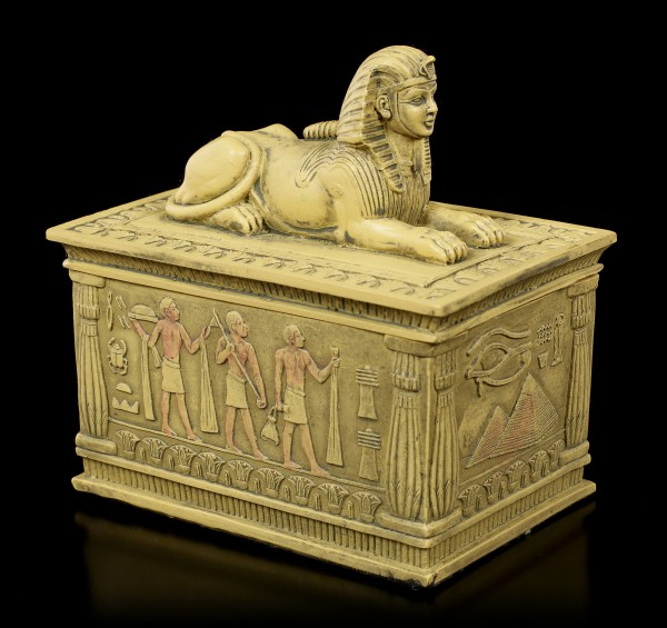 Sphinx Box - sand colored