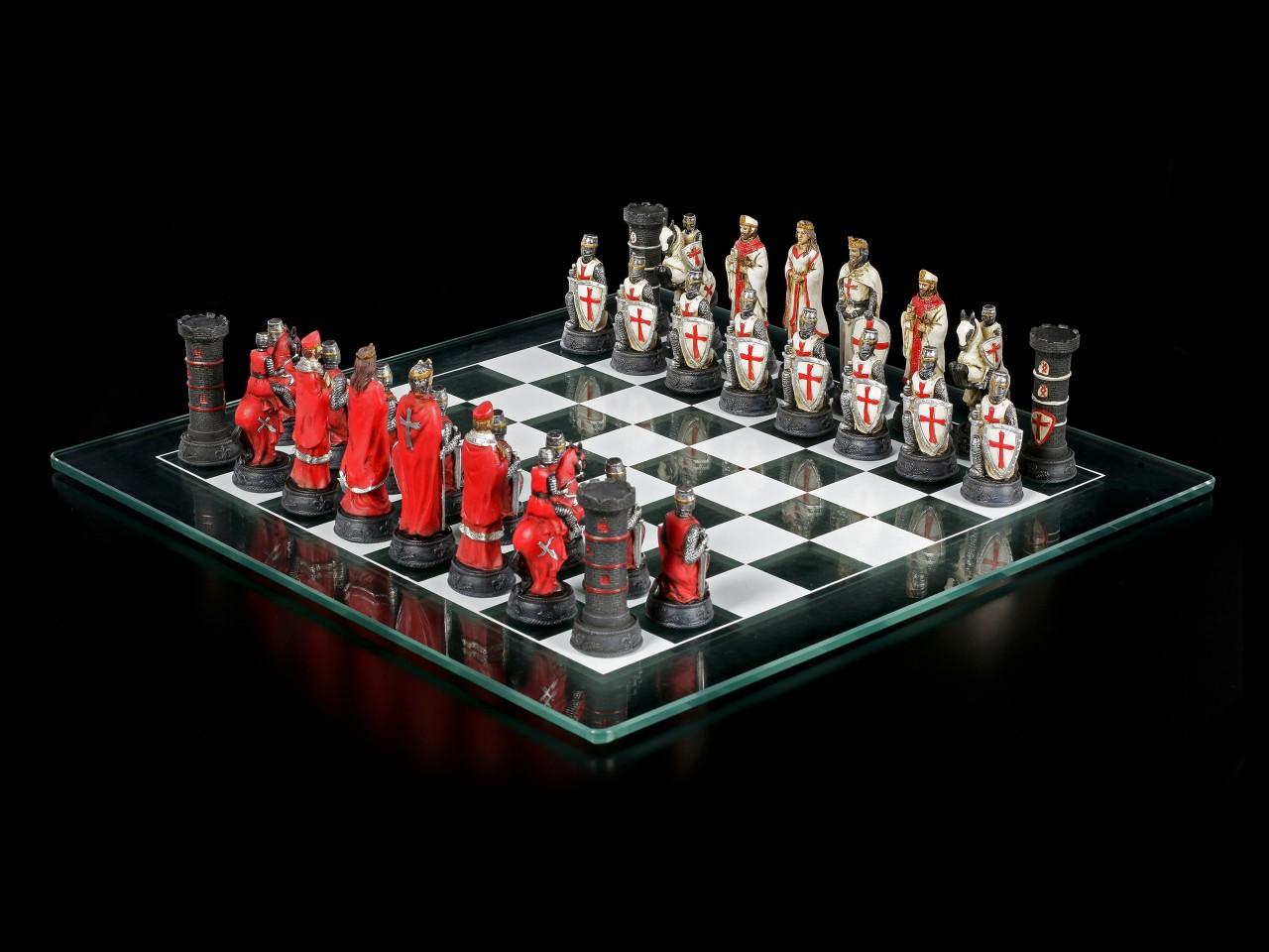 Kreuzritter Schachspiel - Red vs. White