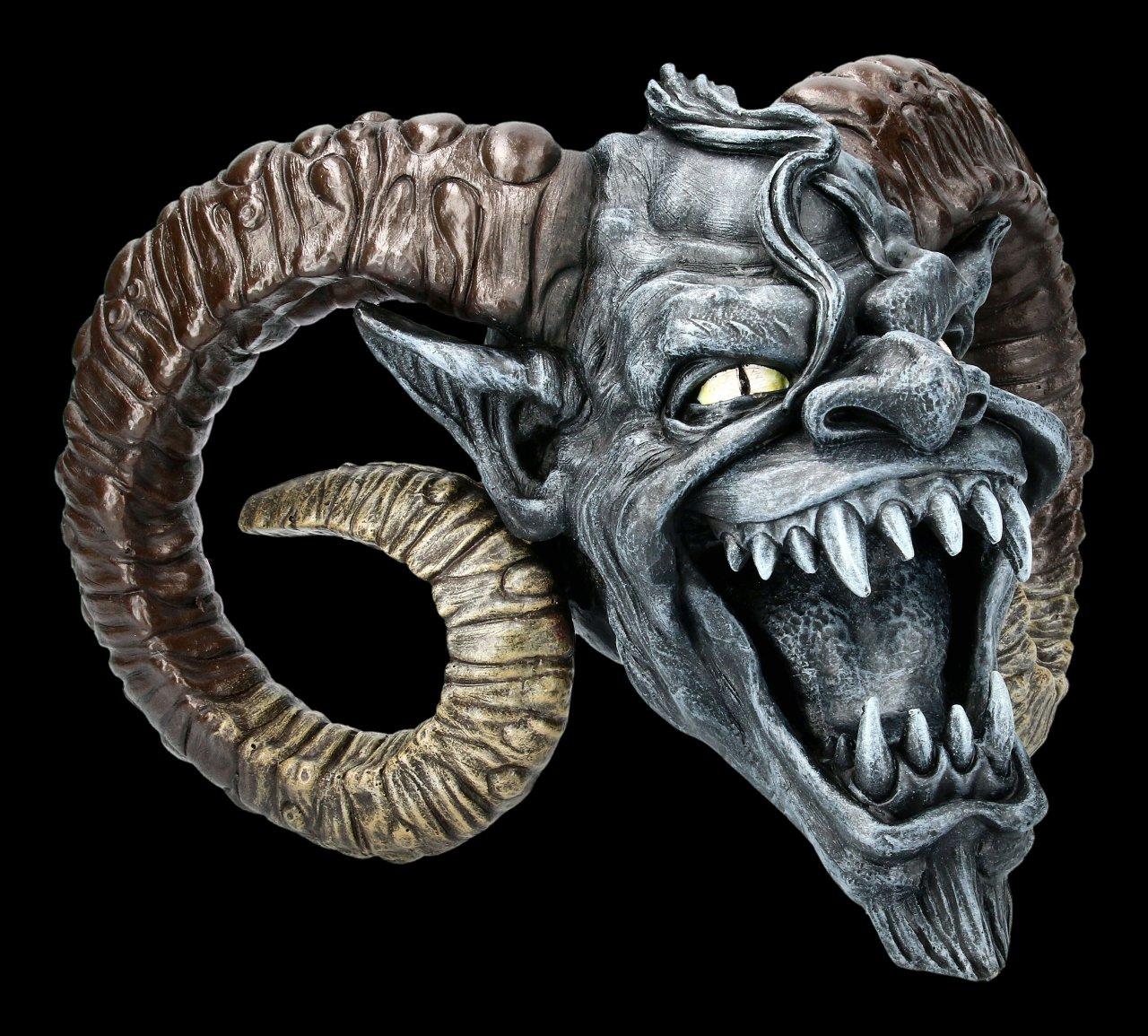 Freaky Devil Skull