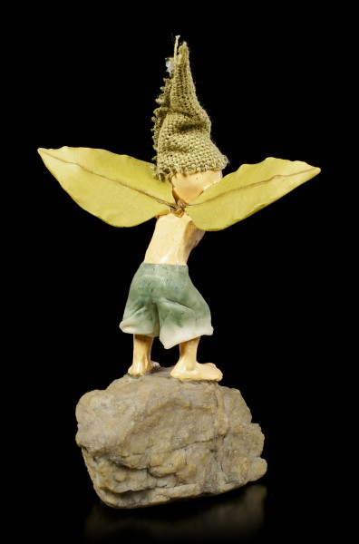 Pixie Goblin Figurine - Trying brings Knowledge