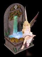 Elfen Figur LED - Fairy Wishing Well
