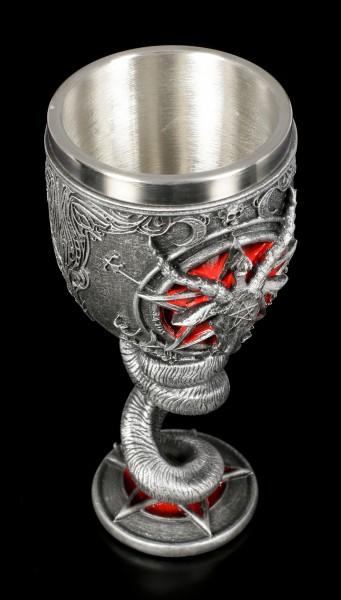 Goblet - Baphomet with Pentagram