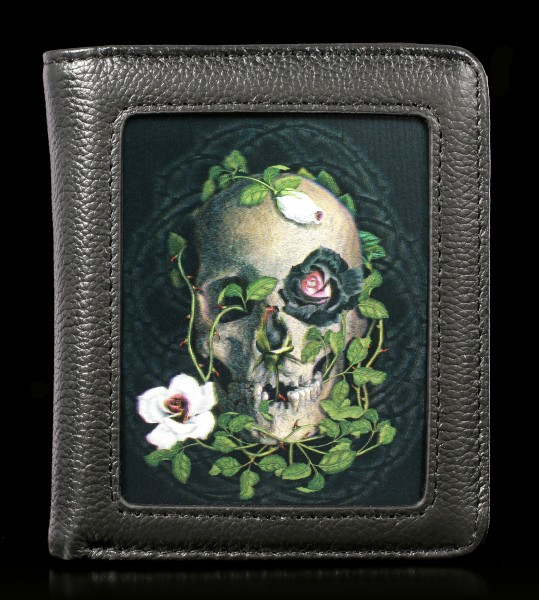 Wallet with 3D Skull - La Vie De La Mort