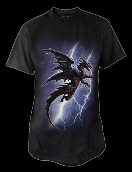 Alchemy Drachen T-Shirt - Lightning Dragon