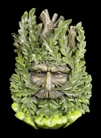 Forest Spirit Wall Plaque - Wise Oak