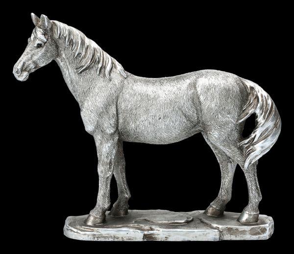 Pferde Figur - Antik Silber