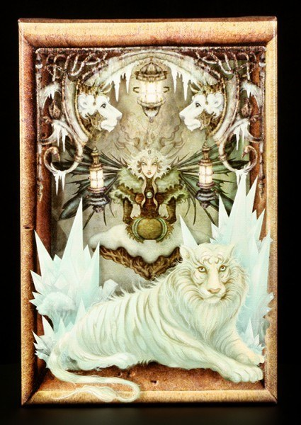 Canvas - The Ice Queen - Stéphanie Leon