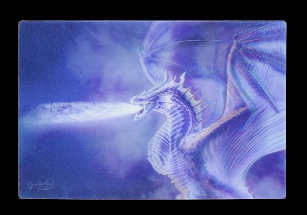 3D Postkarte mit Drache - Mystical Dragon