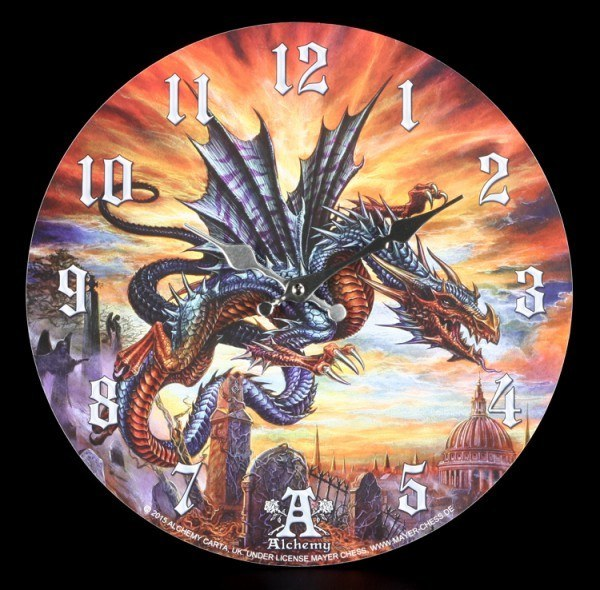 Dragon Clock - The Highgate Horror by Alchemy