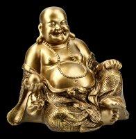 Happy Buddha Figur lachend