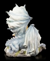 Jungfrau mit Drachen Figur - Dragonlove