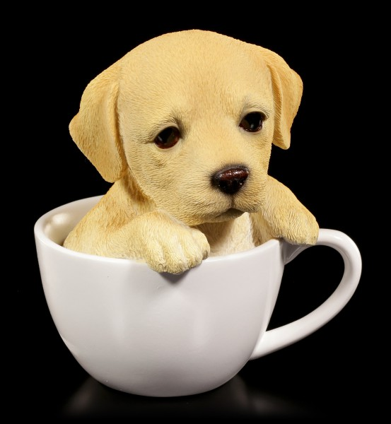 Dog Figurine - Labrador Teacup Pup