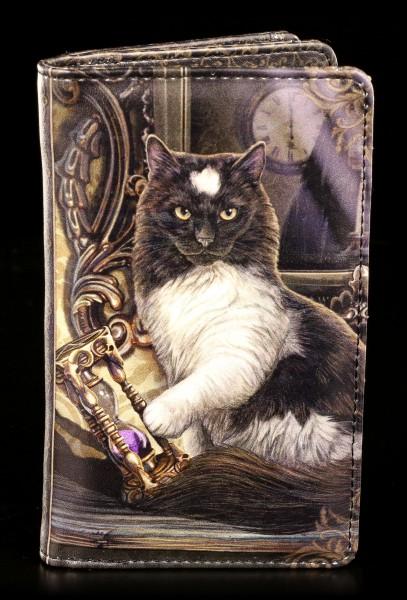 Geldbörse mit Katze - Times Up