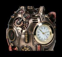 Steampunk Tischuhr Herz - Heart Beat