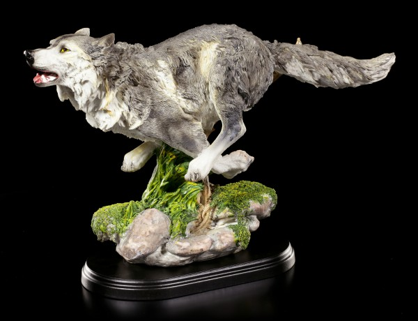 Wolf Figurine - Running in the Night
