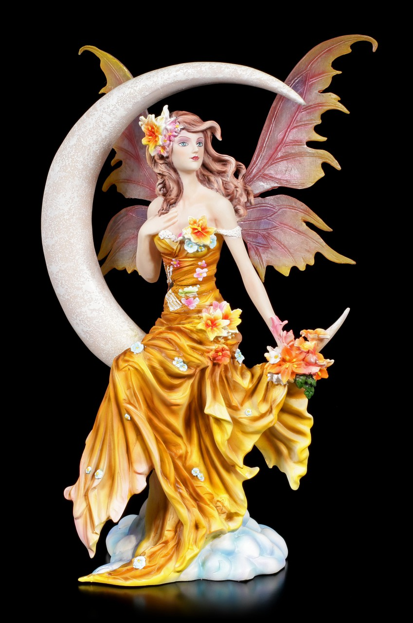 Fairy Figurine - Earth Moon by Nene Thomas