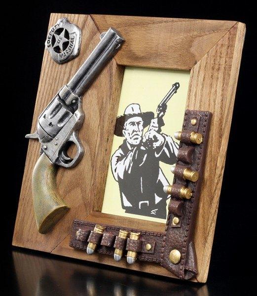 Wild West Wooden Picture Frame - Colt