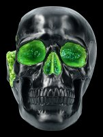 Geode Skull - green