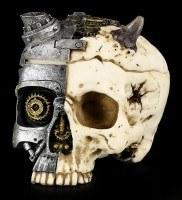 Totenkopf Schatulle - Steampunk Teufel