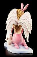 Engel Figur - Sexy Aphra mit Häschen