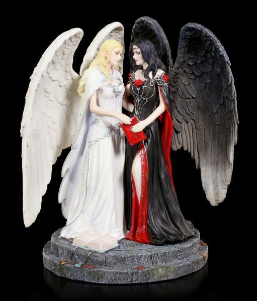 James Ryman Figurine - Dark and Light Angel
