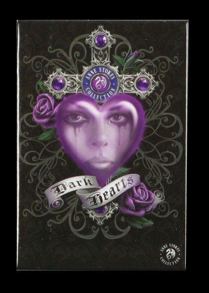 Magnet Gothic - Dark Hearts by Anne Stokes