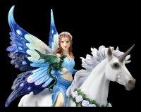 Fairy Figurine on Unicorn - Realm of Enchantment