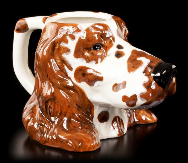 Keramik Tasse - English Setter