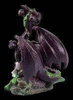 Dragon Figurine - Eggplant