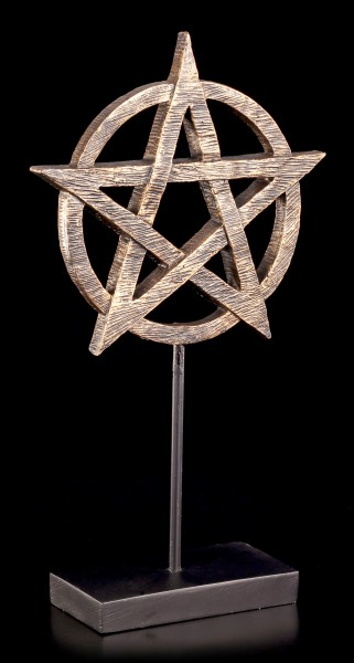Altar Deko - Pentagramm