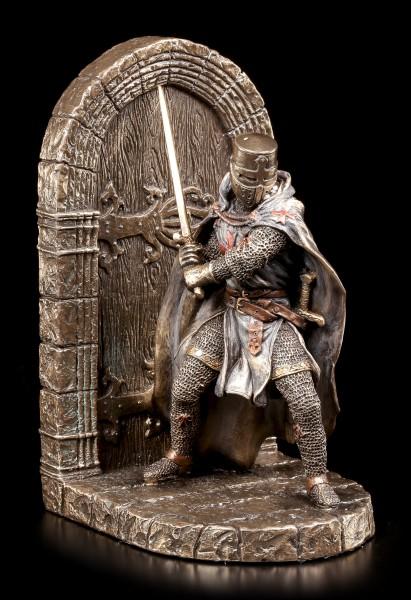 Buchstütze einzeln - Ritter rechts