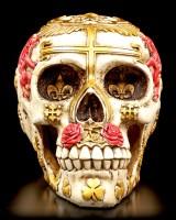 Totenkopf mit Vereinigten Königreich Wahrzeichen
