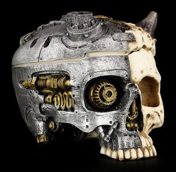 Skull Box - Steampunk Devil