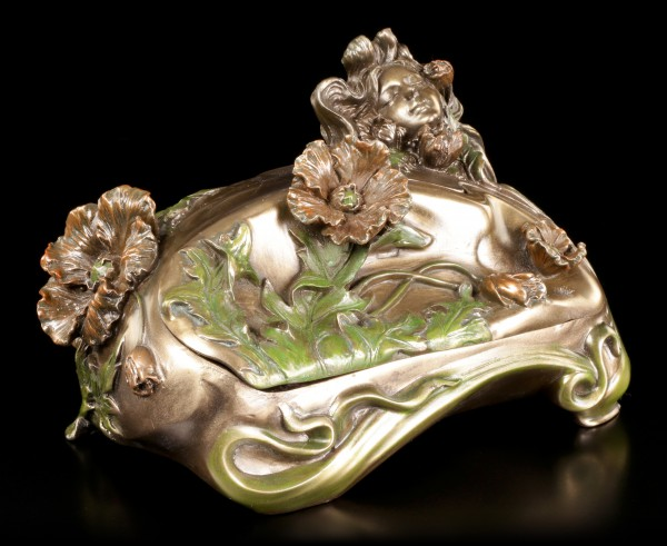 Art Nouveau Box - Women with Flowers