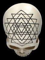 Totenkopf - Heilige Geometrie - Yantra