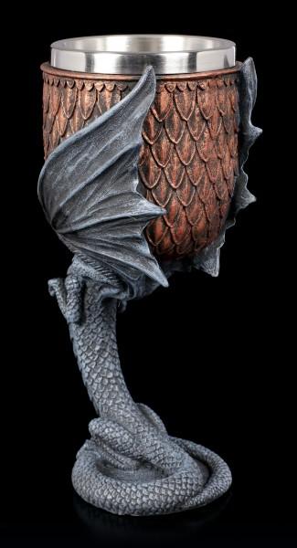 Drachen Kelch - Dragon Goblet by Anne Stokes