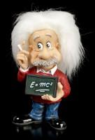 Albert Einstein Figurine - E=mc²