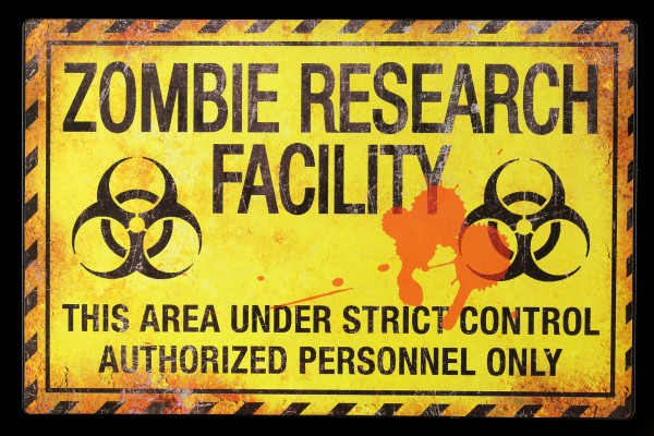 Metal Shield - Zombie Research Facility