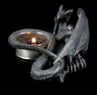 Tealight Holder - Lying Dragon