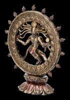 Shiva Figur als Nataraja - im Flammenkreis