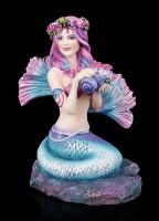 Meerjungfrau Figur - Spring Flowers