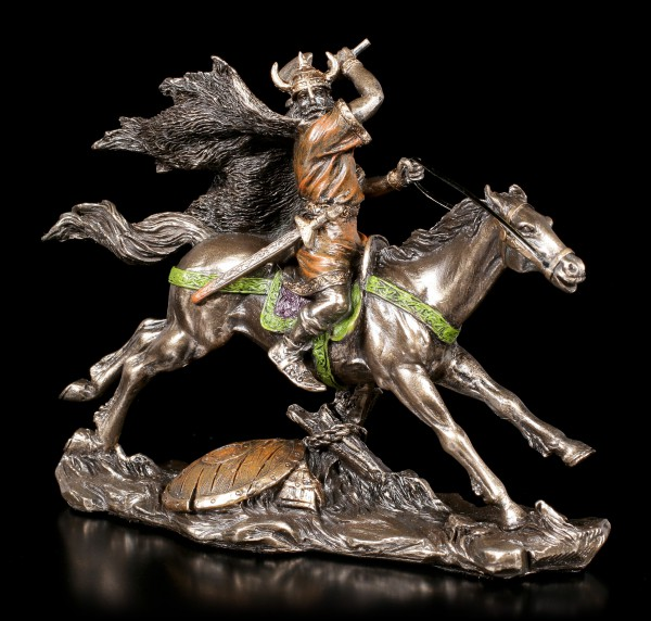 Small Viking Figurine on Horse