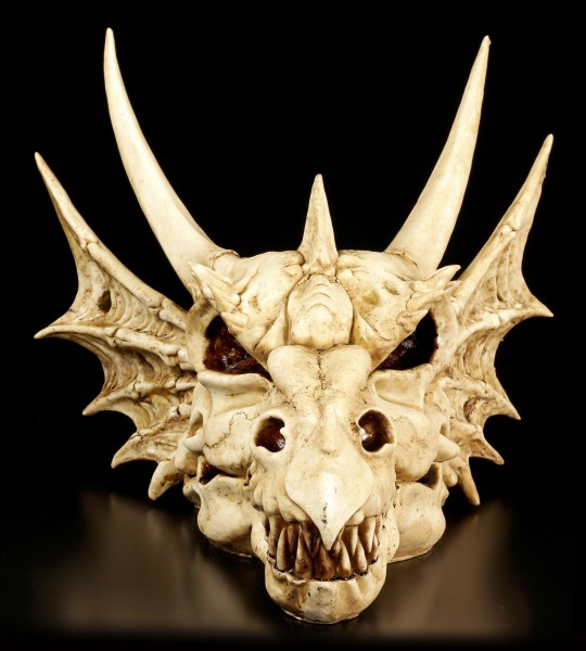 Wandrelief - Schädel des letzen Drachen