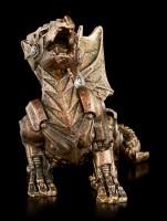 Kleine Steampunk Drachen Figur