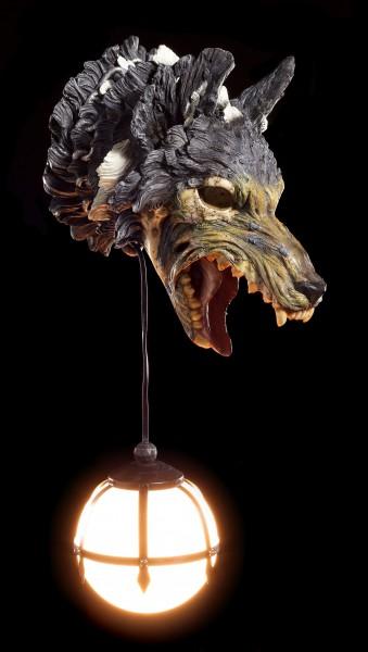 Wandlampe - Untoter Wolf - Wild Rage