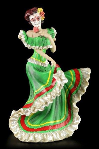 Vorschau: Flamenco Tänzerin - Day of the Dead - Grün