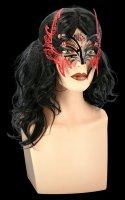 Maske aus Metall - Hexe Sorceress